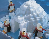 Kitchen Tip Winter Sweet Igloo And Penguin Craft