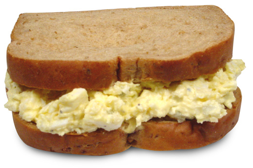 Salads And Sandwiches. Egg Salad Sandwich
