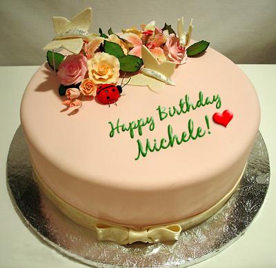 Happy Birthday Kathy Cake