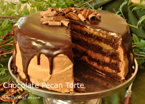 August 21 National Pecan Torte Day Sacchef S Blog