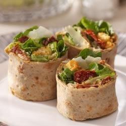 caesar salad rollups